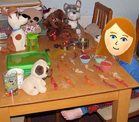 Play-Doh Tea Party