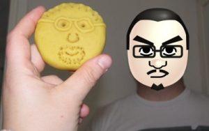 play-doh face