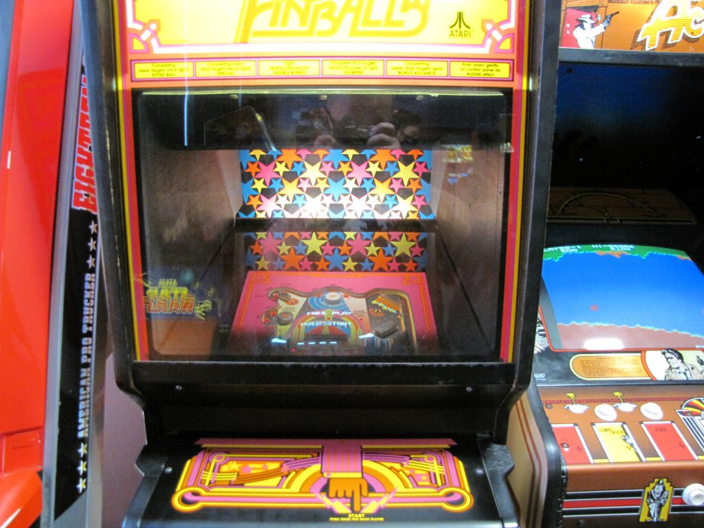 Video Pinball Cabinet